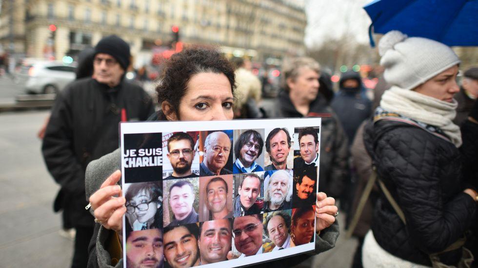 Rättegången om terrordådet mot Charlie Hebdo inleddes under onsdagen.
