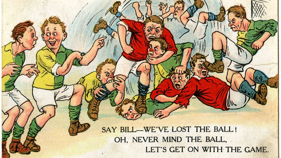 Fotbollshuliganismen har gått på export från Storbritannien
