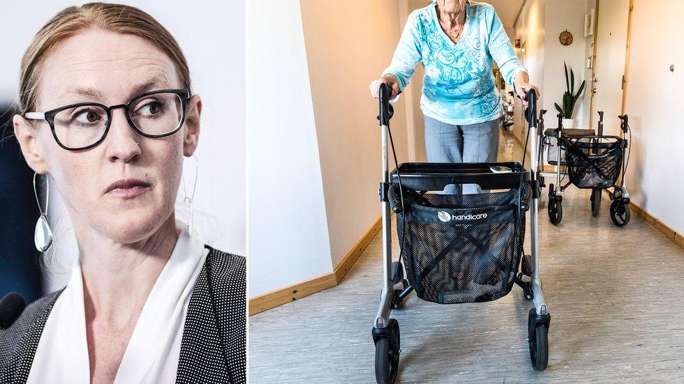 Emma Spak, sektionschef för hälso- och sjukvård vid Sveriges kommuner och regioner.