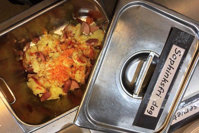 Utan sophink slängs mindre mat: från tio kilo om dagen till tio kilo i veckan!