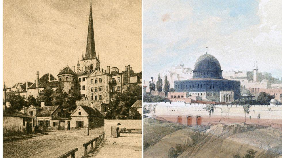 Reval eller Tallinn, Jerusalem eller al-Quds? Många städer har flera namn.