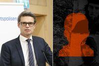 Fredrik Hallström, biträdande enhetschef på kontraterror, svarade på frågorna om SvD:s granskning av Akilovs IS-kontakter.