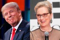 Donald Trump och Meryl Streep möts i HBO-special