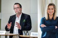 Martin Linder, ordförande på Unionen, och Malin Rapp, föreläsare och expert inom motivationsforskning.