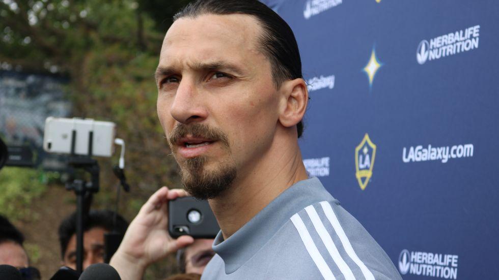 Blir det en återkomst till Italien för Zlatan Ibrahimovic? Arkivbild.