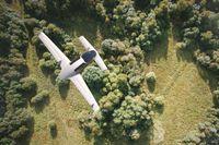 Liliums flygplan har 36 små propellers, som drivs på el.