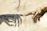 Människan är både kropp och tanke. Utan det ena är hon robot, utan det andra grönsak. Ill: Thomas Molén