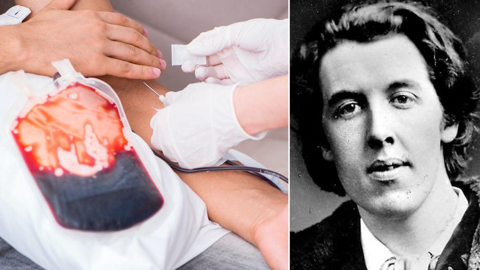 """Vill du också ha transfusion av ungt blod? Oscar Wilde skrev """"Dorian Grays porträtt""""."""