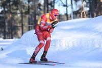 Världscupsuveränen Alexander Bolsjunov vann 15-kilometersloppet i Falun.
