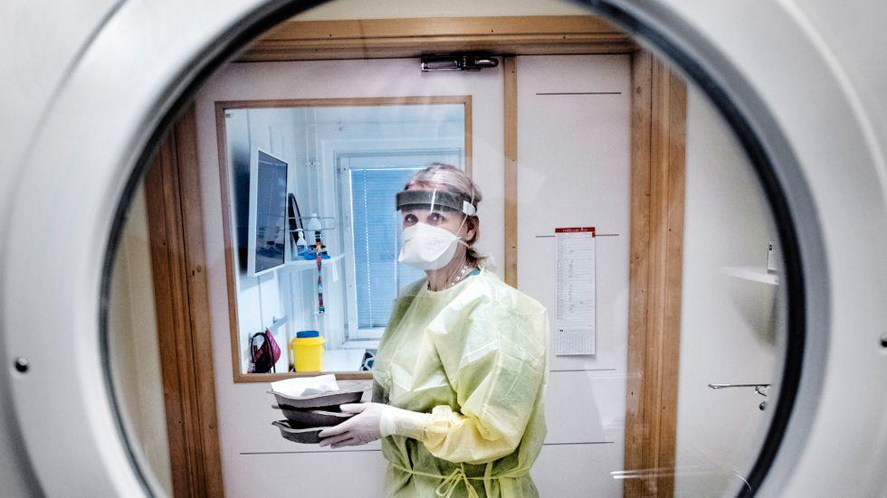 Infektionsmottagningen på Akademiska sjukhuset i Uppsala.