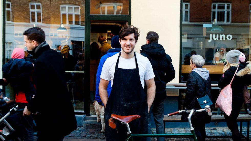 Svenske Emil Glaser är en av de kockar som lämnat restaurangvärlden för att starta bageri i Köpenhamn.