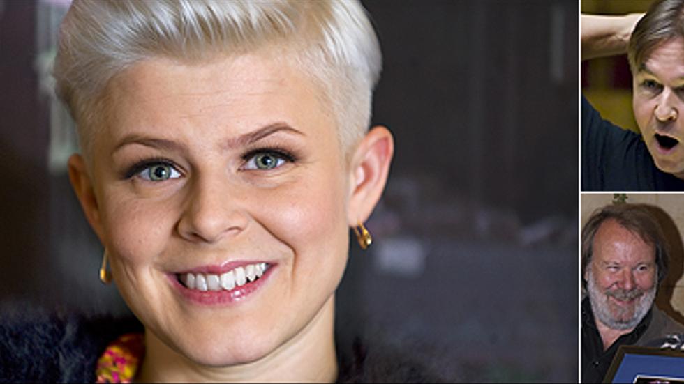 Robyn, Esa-Pekka Salonen med Radiosymfonikerna och Abbamusiken till filmen Mamma mia - alla är de nominerade till Grammy.