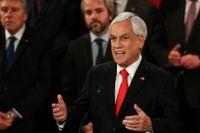 Chiles president Sebastián Piñera drar sig ur värdskapet för toppmötena Apec och COP25. Arkivbild.