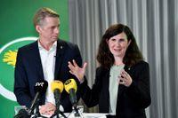 Desperata? Miljöpartiets språkrör Per Bolund och Märta Stenevi tar partiet vänsterut, anser statsvetare.