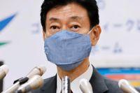 Japans finansminister Yasutoshi Nishimura. Arkivbild.