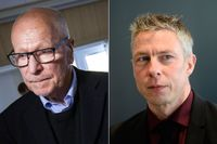 Sven-Erik Alhem och Jens Göransson.
