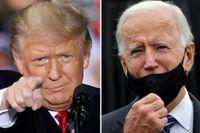Trump och Biden.