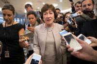 Susan Collins delstat Maine kommer att få 43 procent mer finansiering, enligt en omarbetad version av sjukvårdsförslaget som presenterades på måndagen. Arkivbild.