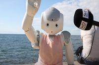 """Roboten Ariel: """"Robotar skulle passa som politiker"""""""