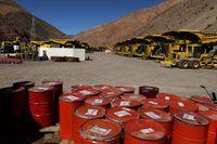 Bland företagen i AP-fondernas innehav finns bland annat gruvbolaget Barrick Gold som har fått kritik för att ha dumpat giftigt gruvavfall i floder. Bilden är från bolagets gruva i norra Chile.
