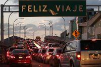 Gränsövergång mellan Mexiko och USA.