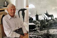 97-årige Rolf Magnusson menar att Arholma kyrka har betytt väldigt mycket för ön.