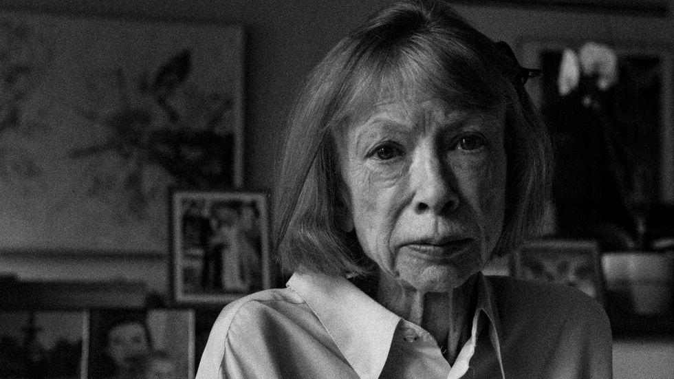 """""""Sorg visar sig vara en plats ingen av oss känner till förrän vi når dit"""" – Joan Didion."""