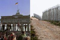 Efter Berlinmurens fall har bland annat muren mellan Bulgarien och Turkiet rests.