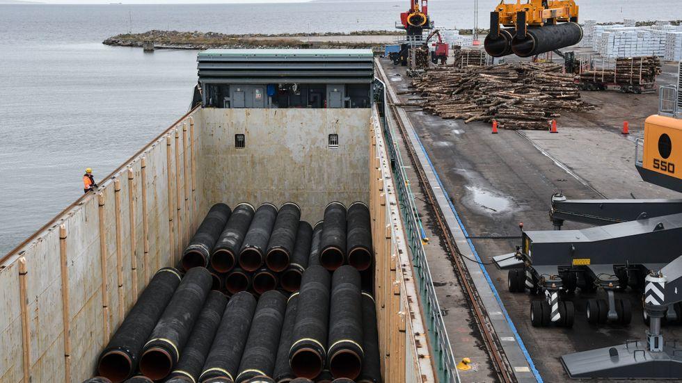 Finland ger tummen upp för Nord Stream 2. Arkivbild.