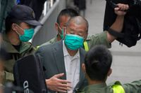 Myndigheterna riktar nya anklagelser mot den prodemokratiske mediemogulen Jimmy Lai. Arkivbild.