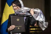 Handelsminister Ann Lindes sjal under Iranbesöket har fått kritik av Liberalernas Jan Björklund.