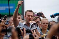 """De av Aleksej Navalnyj orkestrerade och alltmer frekventa demonstrationerna kan idag komma att upprepas med ökad styrka i samband med firandet av """"Rysslands dag""""."""