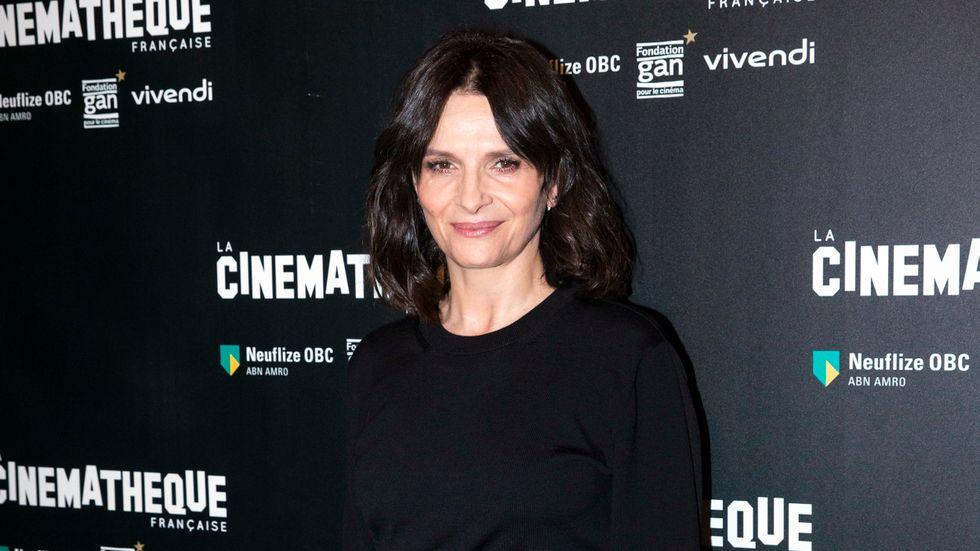 Juliette Binoche hedras under Göteborgs filmfestival. Arkivbild.
