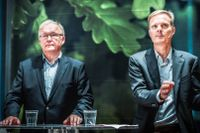 Swedbanks ordförande Göran Persson och vd Jens Henriksson