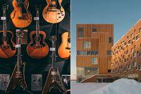 Guitars och Bildsmuseet är några av de kulturupplevelser som lockar till Umeå.