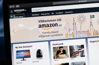 Amazon lanserade sin svenska sajt i oktober förra året. Arkivbild.
