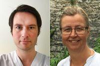 Magnus Isacson och Ylva Sandström.