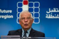 EU:s utrikeschef Josep Borrell. Arkivfoto.