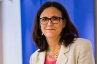 Cecilia Malmström (FP), EU-kommissionär.