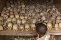Upp emot en miljon människor dödades under folkmordet i Rwanda 1994.