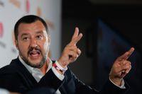 Migrationsfrågan har fått Italiens inrikesminister Matteo Salvini att hamna i ett infekterat gräl med sin kollega från Luxemburg. Arkivbild.