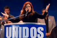 Argentinas president Cristina Fernández de Kirchner.