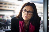 Cecilia Malmström (L) är Sveriges EU-kommissionär med ansvar för handelsfrågor.