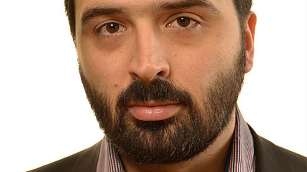 Ali Esbati (V) skickade pengar till PFLP.