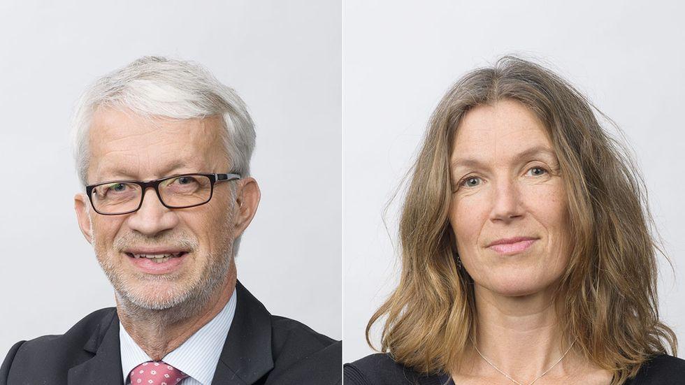 Mats Ericson och Karin Åmossa.