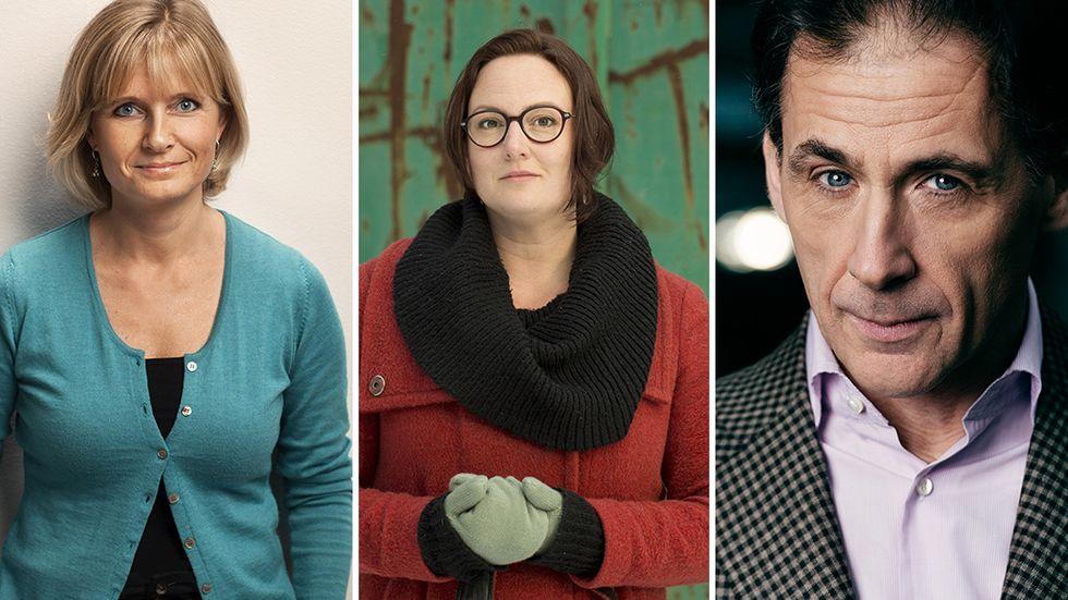 Tre författare med en sak gemensamt.