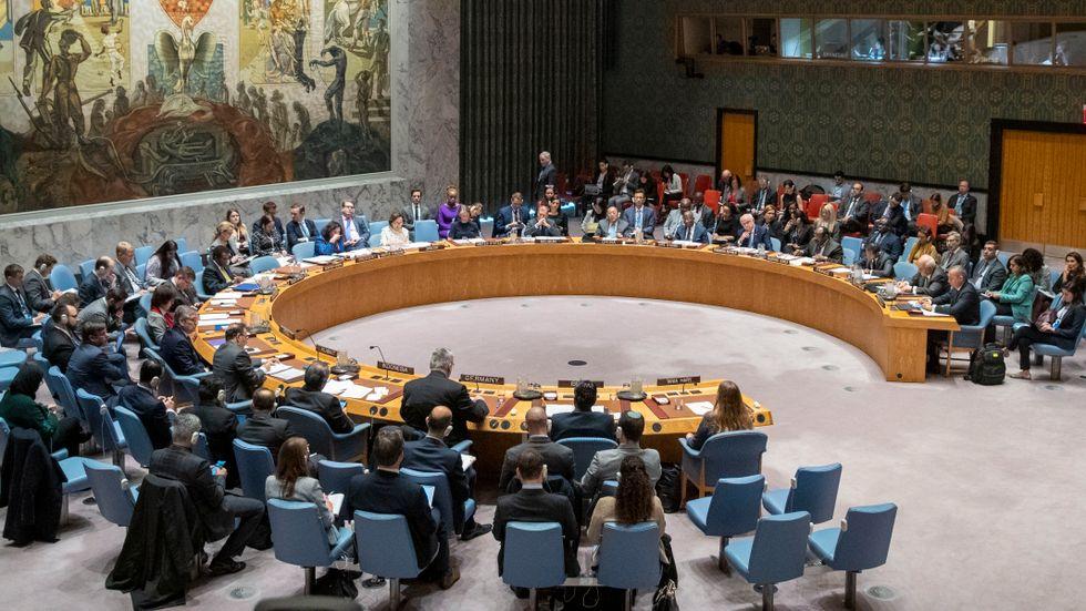 FN:s säkerhetsråd i New York. Arkivbild.