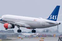En Airbus A320-232 landar på Kastrups flygplats. Arkivbild.