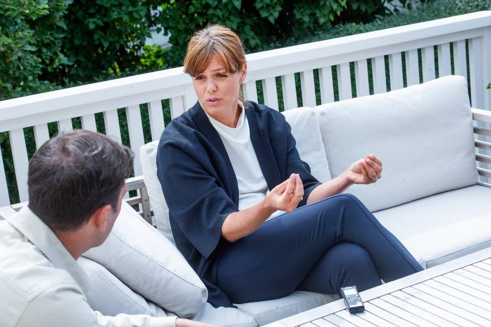 Cementas hållbarhets chef, Karin Comstedt Webb.
