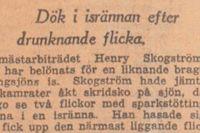 SvD den 26 februari 1941. Läs mer om händelsen längre ner i artikeln.